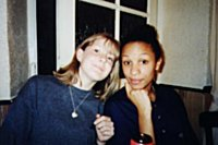 Gemma and Ruth posing