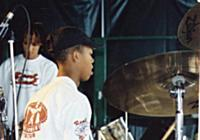 Drummer and arranger, Leroy Clarke