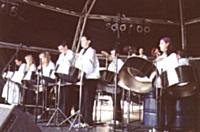 Real Steel took part in the BBC Musiclive event in May on Plymouth Hoe